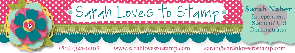 Sarah Loves to Stamp
