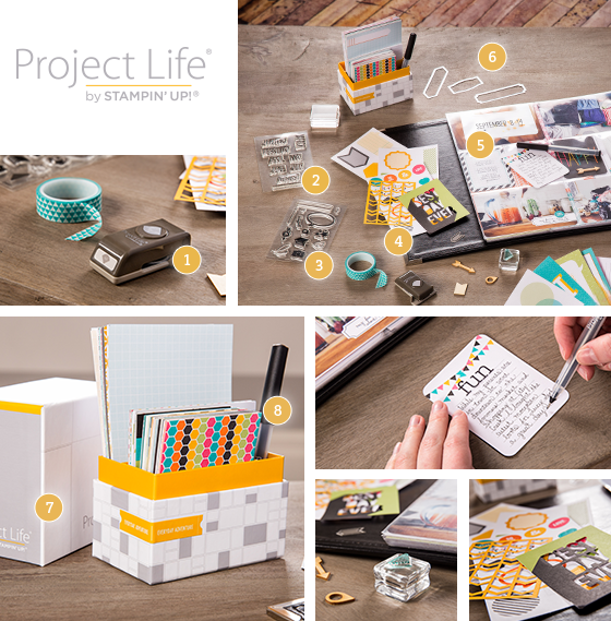 Stampin' Up! Project Life May 1 Products